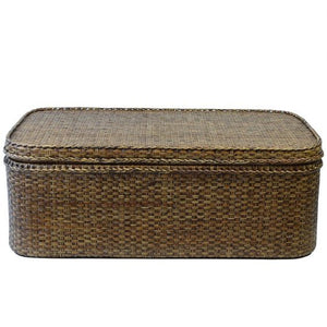 Plantation Rattan Coffee Table with Storage - Notbrand
