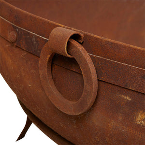 Indian Kadai Cauldron Fire Pit Replica - Notbrand