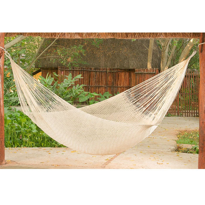 Cotton Mexican Hammock Cream Colour - Notbrand