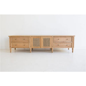 Hamilton Entertainment TV Unit – Weathered Oak - Notbrand
