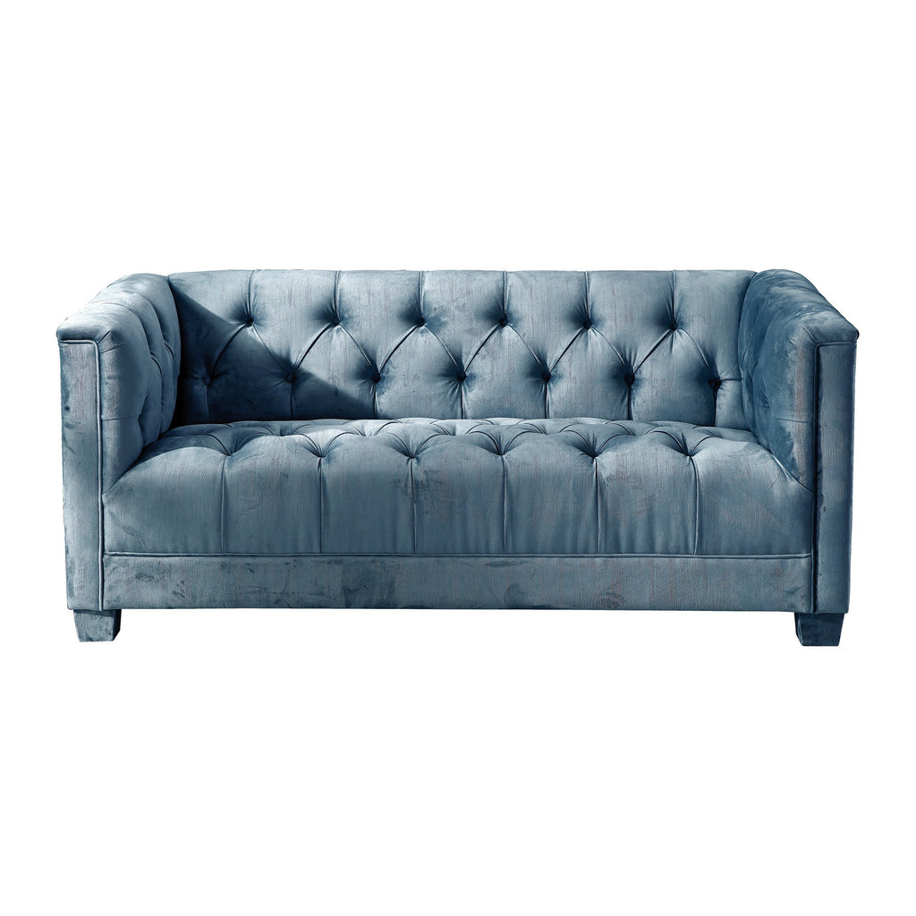 Luxor 2 Seater Teal Sofa