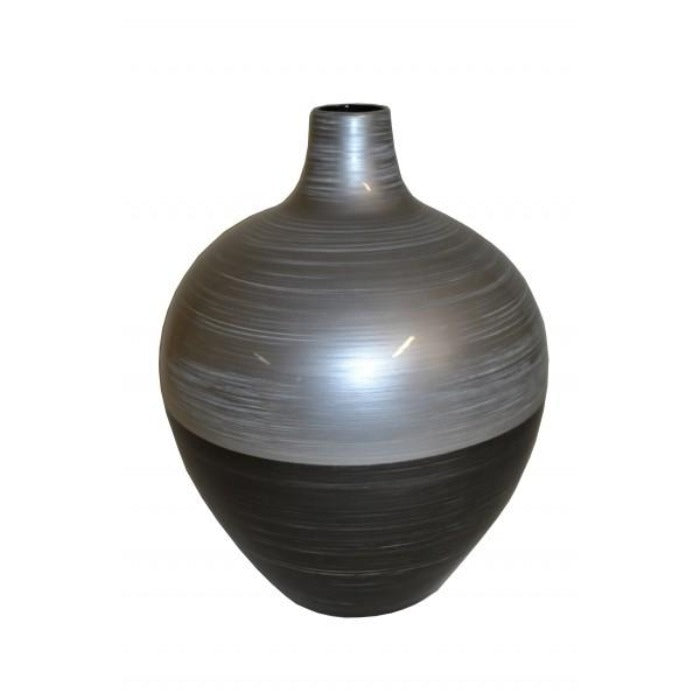 Round Narrow Neck Lacquer Vase - Medium - Notbrand