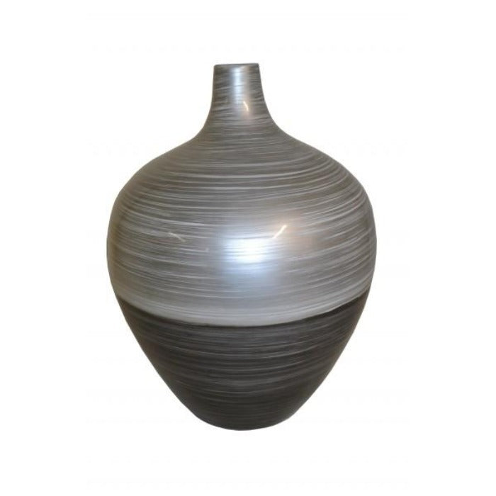 Round Narrow Neck Lacquer Vase - Large - Notbrand