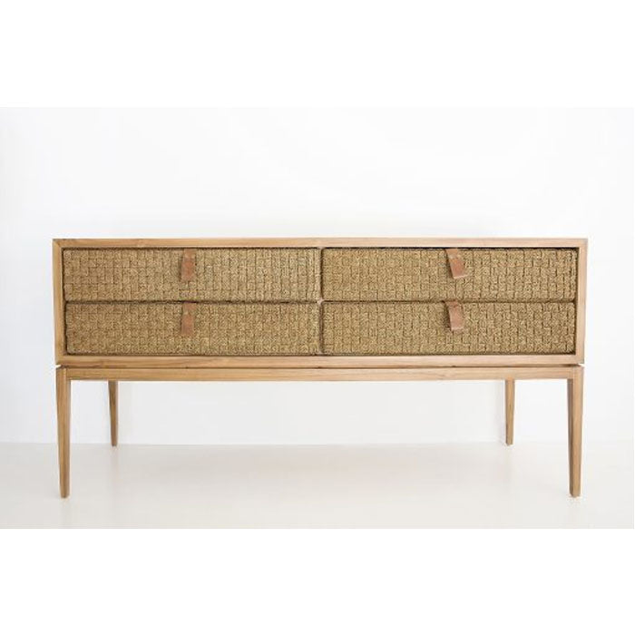 Aruba Rattan Console Table - Notbrand