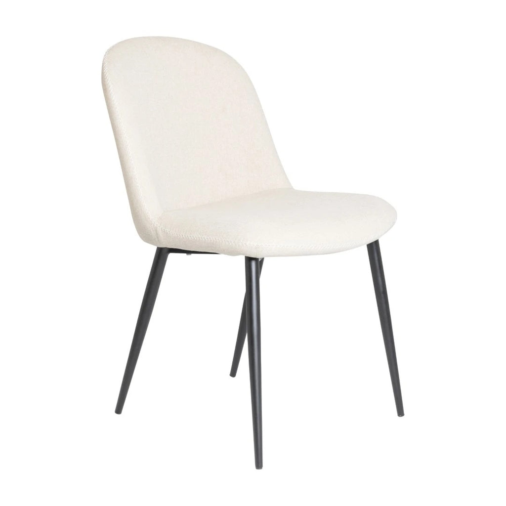 Set of 4 Rapallo Bone Dining Chair - Notbrand