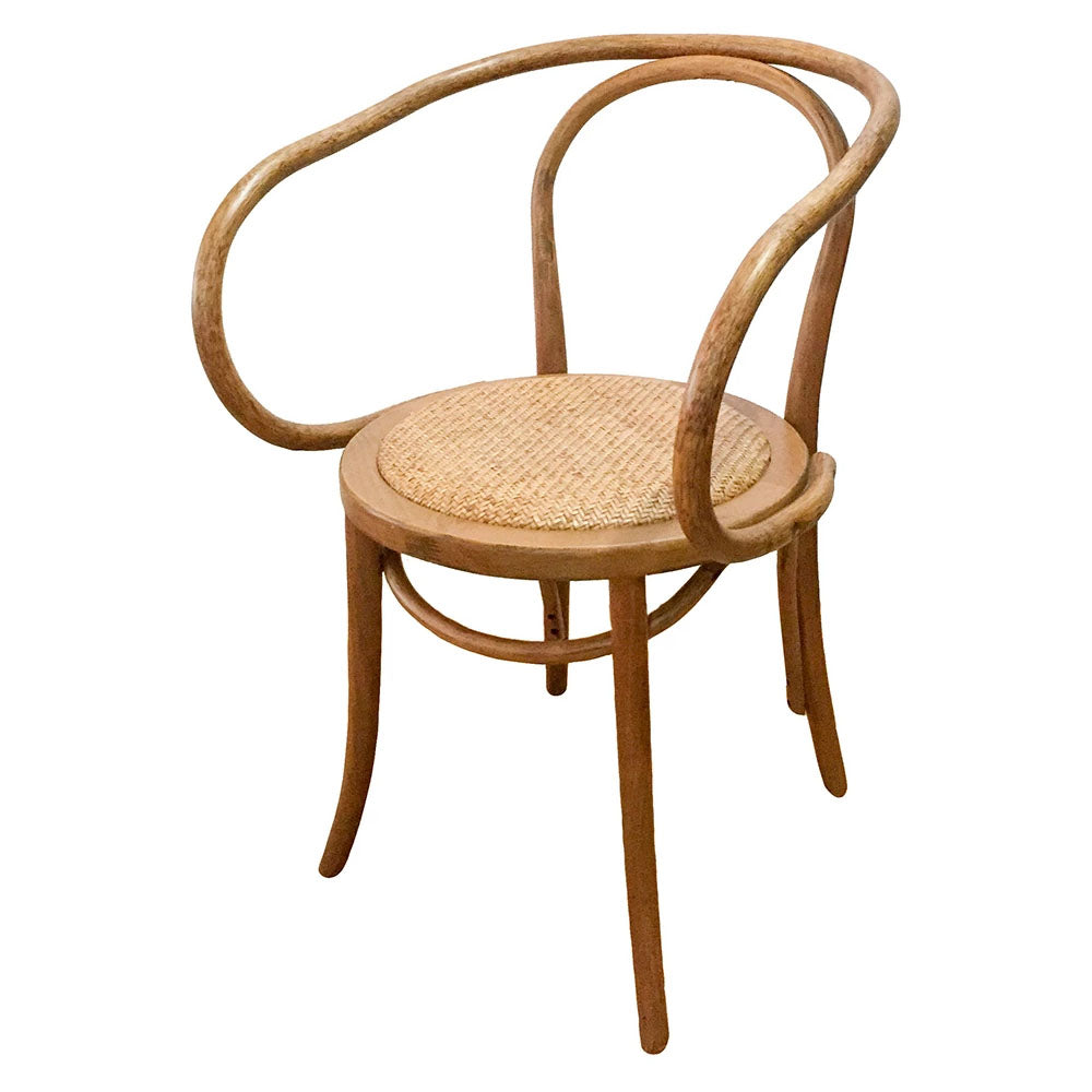 Serena Rattan Dining Chair Natural - Notbrand