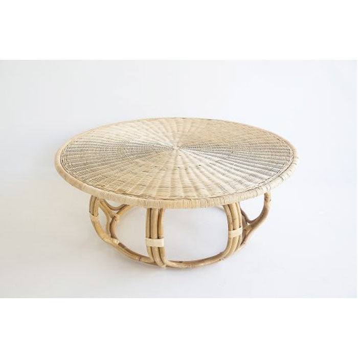 St Lucia Rattan Coffee Table - Notbrand