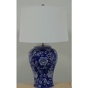 Hand Painted Trellis Table Lamp - Notbrand