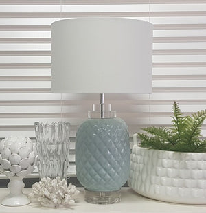 Island Turquoise Table Lamp - Notbrand