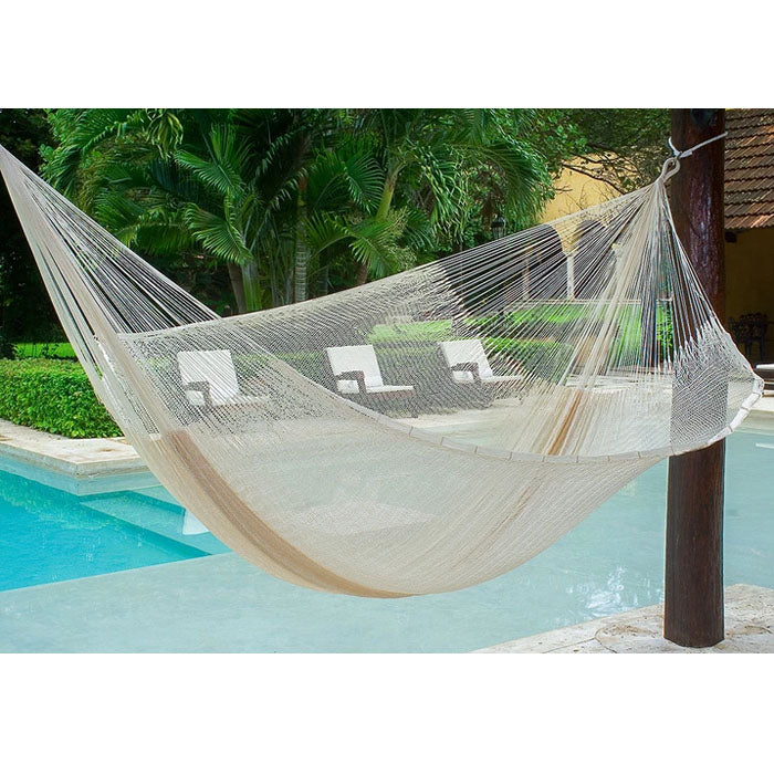Super Nylon Mexican Hammock Cream Colour - Notbrand