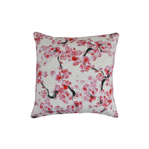 Cherry Blossom Cotton Cushion Cover - Notbrand