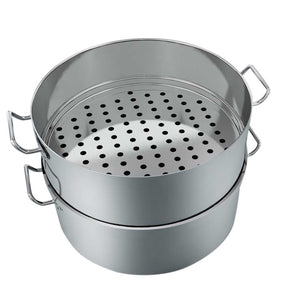 2 Tier 304 Stainless Steel Steamer -  45*28cm - Notbrand