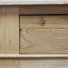 Curtis 2 Drawer Large Console Natural Reclaimed Pine