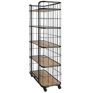 Mayfair Tall Bakers Rack Shelving Unit - Notbrand
