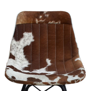 Eames Style Cowhide Chair - Notbrand