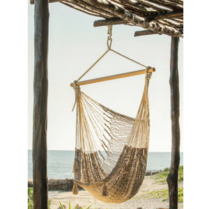 Extra Large Cotton Mexican Hammock Chair Dream Sands Outdoor - Notbrand