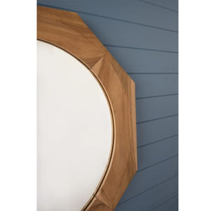 Nautical Teak Mirror - Notbrand