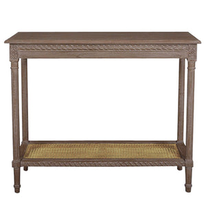 Polo Console Table Oak Wash - Notbrand