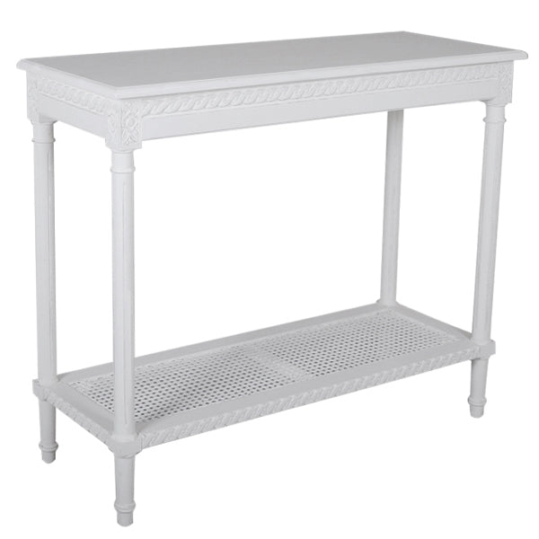 Polo Console Table White - Notbrand