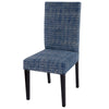 Faded Indigo Dining Chair - Notbrand