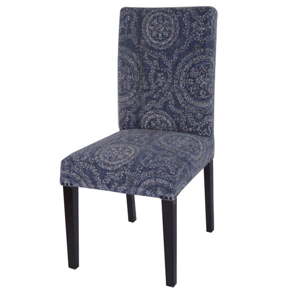 Faded Indigo Dining Circle Chair - Notbrand