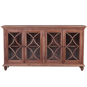 Country Cottage 4 door Buffet Sideboar Natural - Notbrand