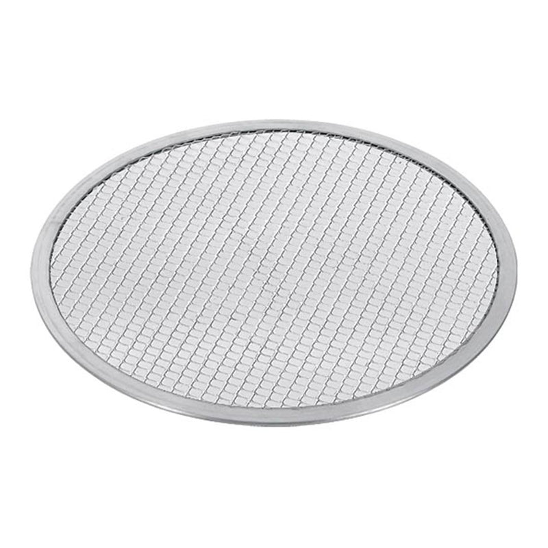 Round Aluminium Pizza Screen & Baking Pan - 8in - Notbrand
