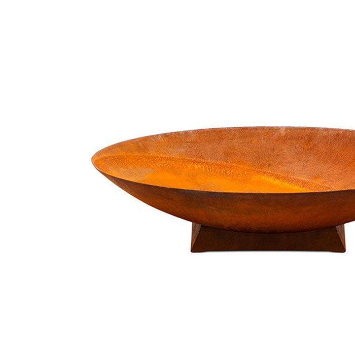 Cast Iron Fire Pit Bowl on Trivet Base Medium 75cm