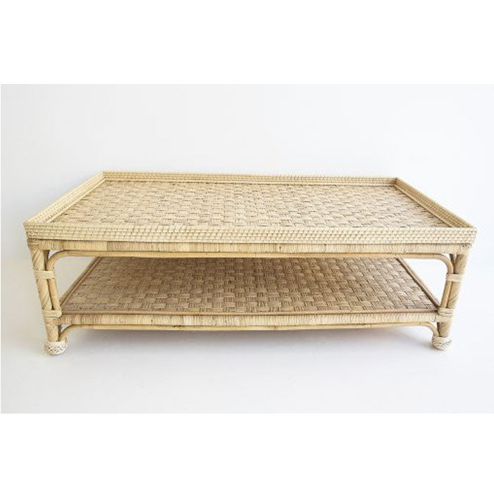 Cayman Rattan Coffee Table - Notbrand