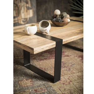Alpine Reclaimed Timber Coffee Table - Notbrand