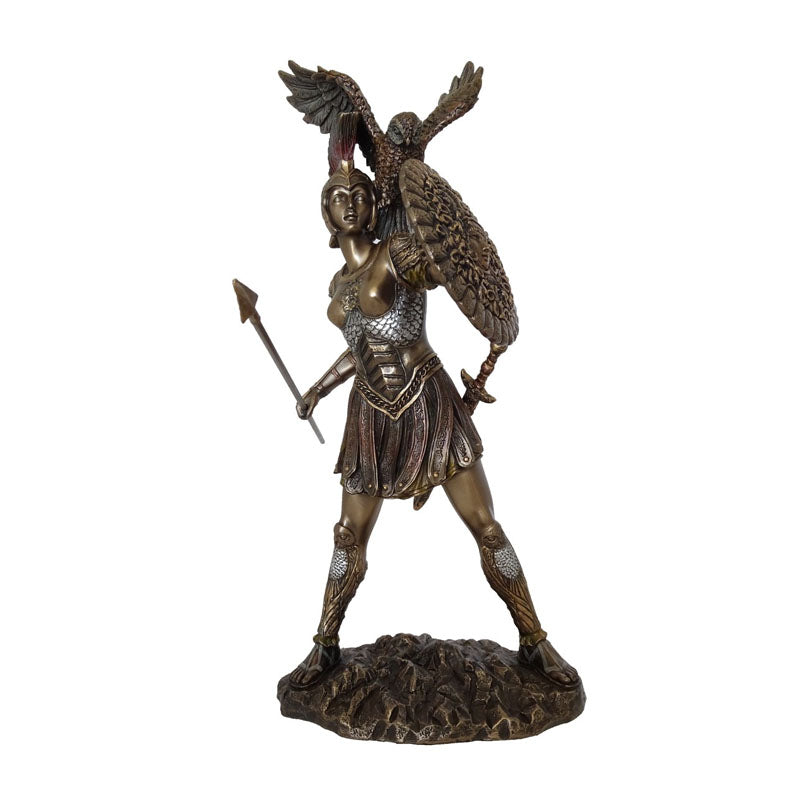 Athena - Goddess Of Wisdom Bronze Figurine