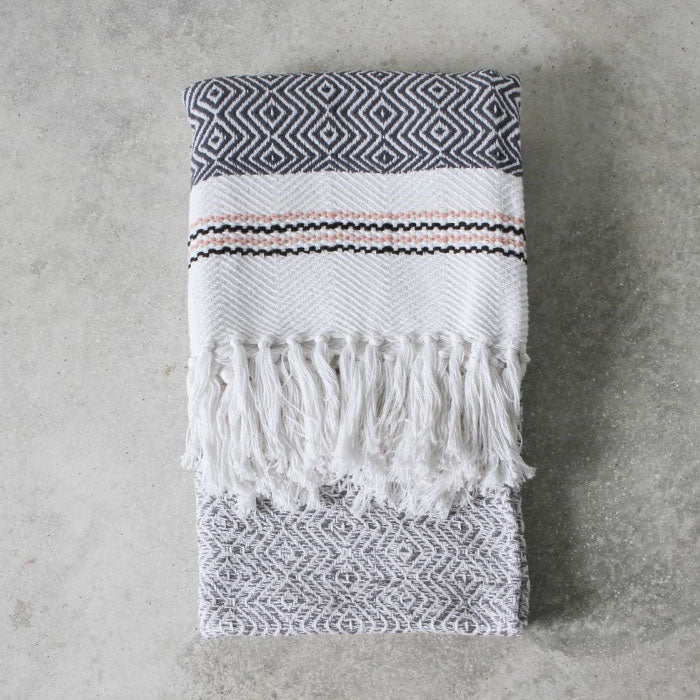 Sky Woven Throw - Notbrand