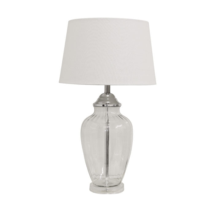 Addison Table Lamp White 67cmh - Notbrand