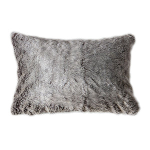 Alaskan Wolf Cushion Chocolate - Notbrand