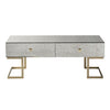 Wesson Antique Mirrored 4 Drawer Coffee Table - Notbrand