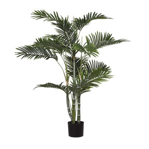 Bulruk Potted Golden Cane Palm Artificial Tree - Notbrand