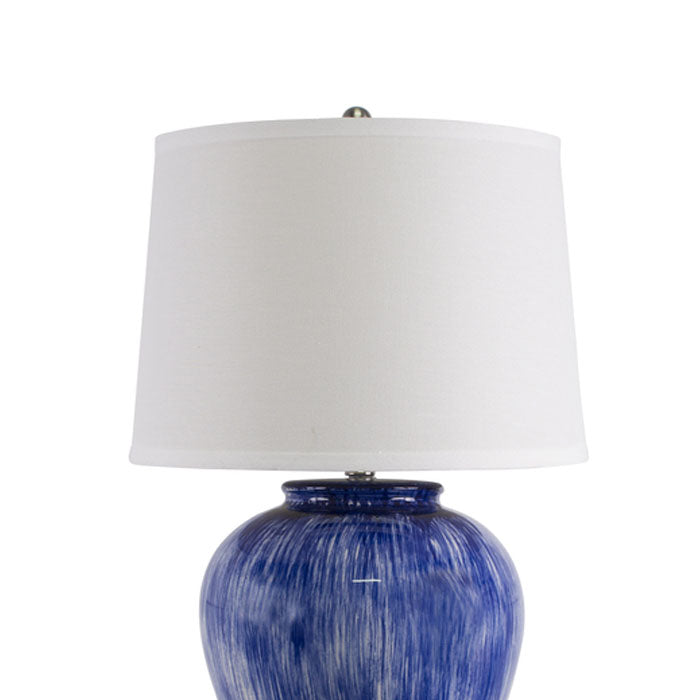 Athena Light Blue Table Lamp - Notbrand