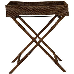 Plantation Rattan Butlers Tray - Notbrand