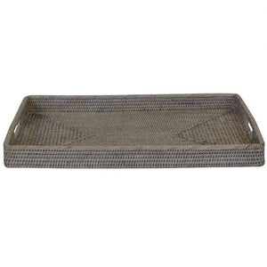 Verandah Rattan Tray Rectangle Small - Notbrand