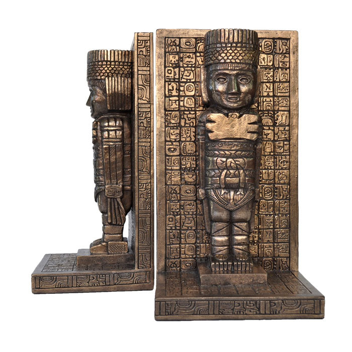 Mayan Bookend Single Piece