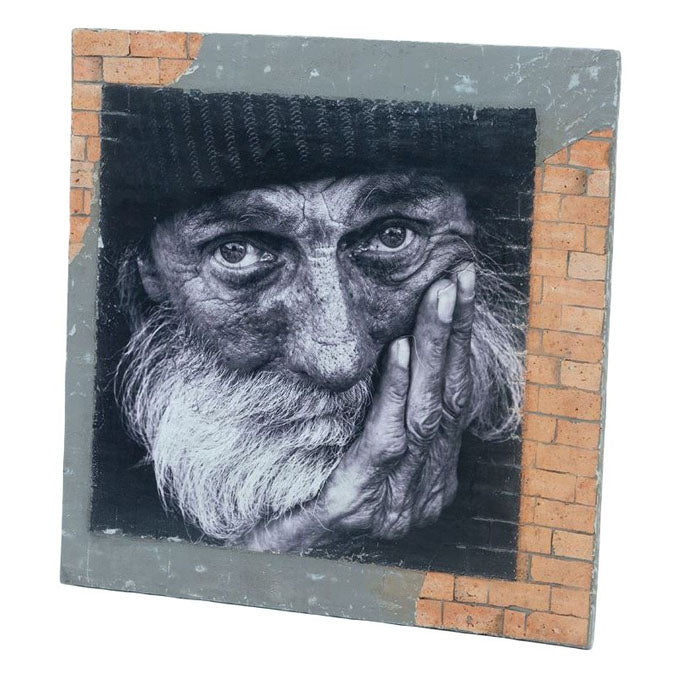 Brickon Poster Man Wall Art - Notbrand