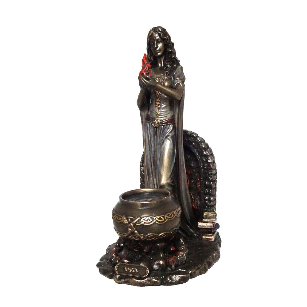 Brigid - Goddess Of Childbirth & Healing Bronze Figurine
