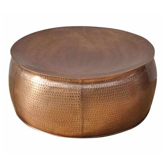 Bronze Look Hammered Coffee Table - Notbrand
