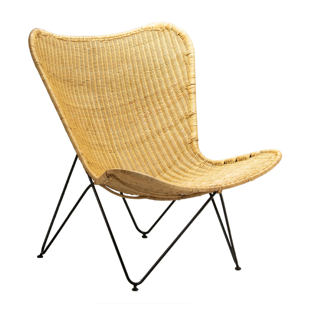 Butterfly Natural Rattan Chair