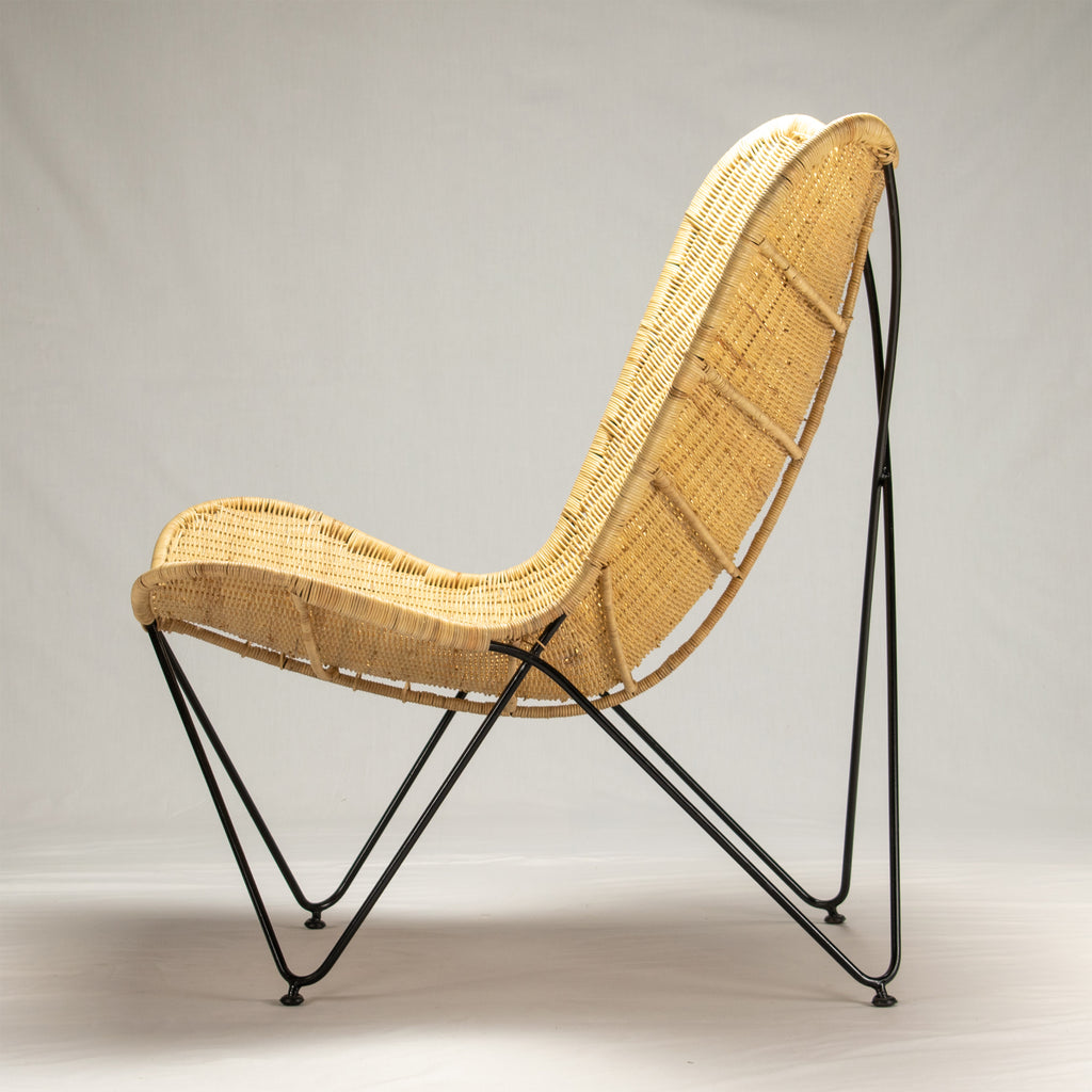 Butterfly Natural Rattan Chair - Notbrand