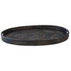 Bungalow Rattan Tray Oval Range - Notbrand