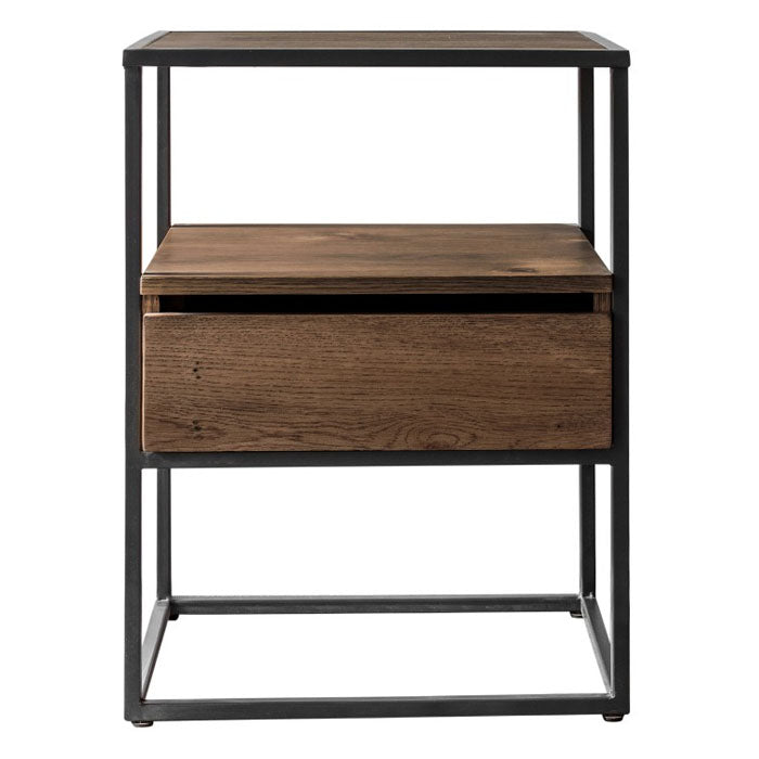 Trace Smoked Side Table - Notbrand