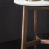 Belfast Marble Top Side Table - Notbrand