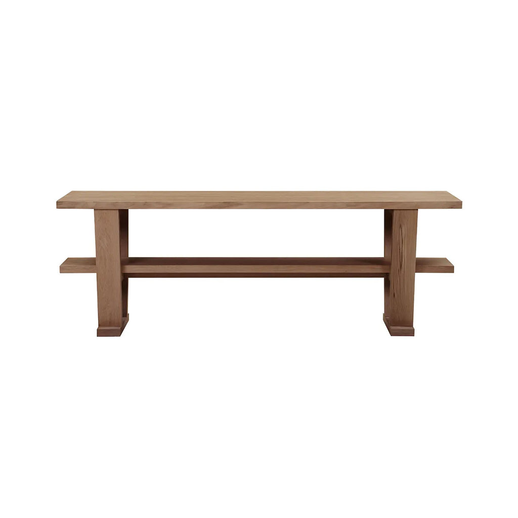 Blaine Natural Oak Console Table - Notbrand