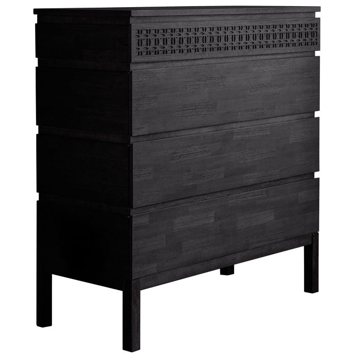 Denver Boutique 4 Drawer Chest Dresser - Notbrand